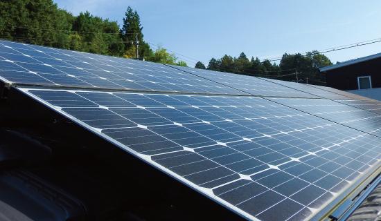 太陽光発電は設置場所を選びません。