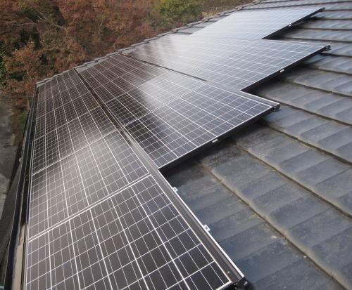 奄美大島W様邸太陽光発電システム設置