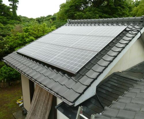 奄美大島H様邸太陽光発電システム設置