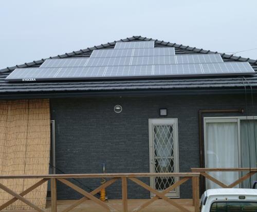 H様邸太陽光発電システム設置