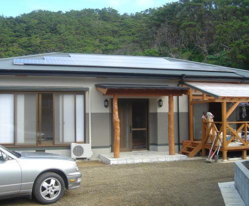 I様邸太陽光発電システム設置