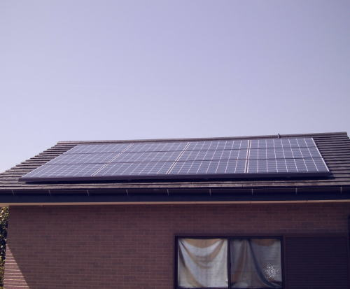 N様邸太陽光発電システム設置